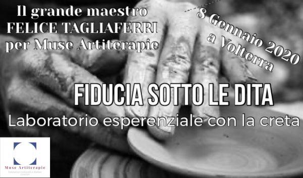 Felice Tagliaferri: laboratorio con la creta