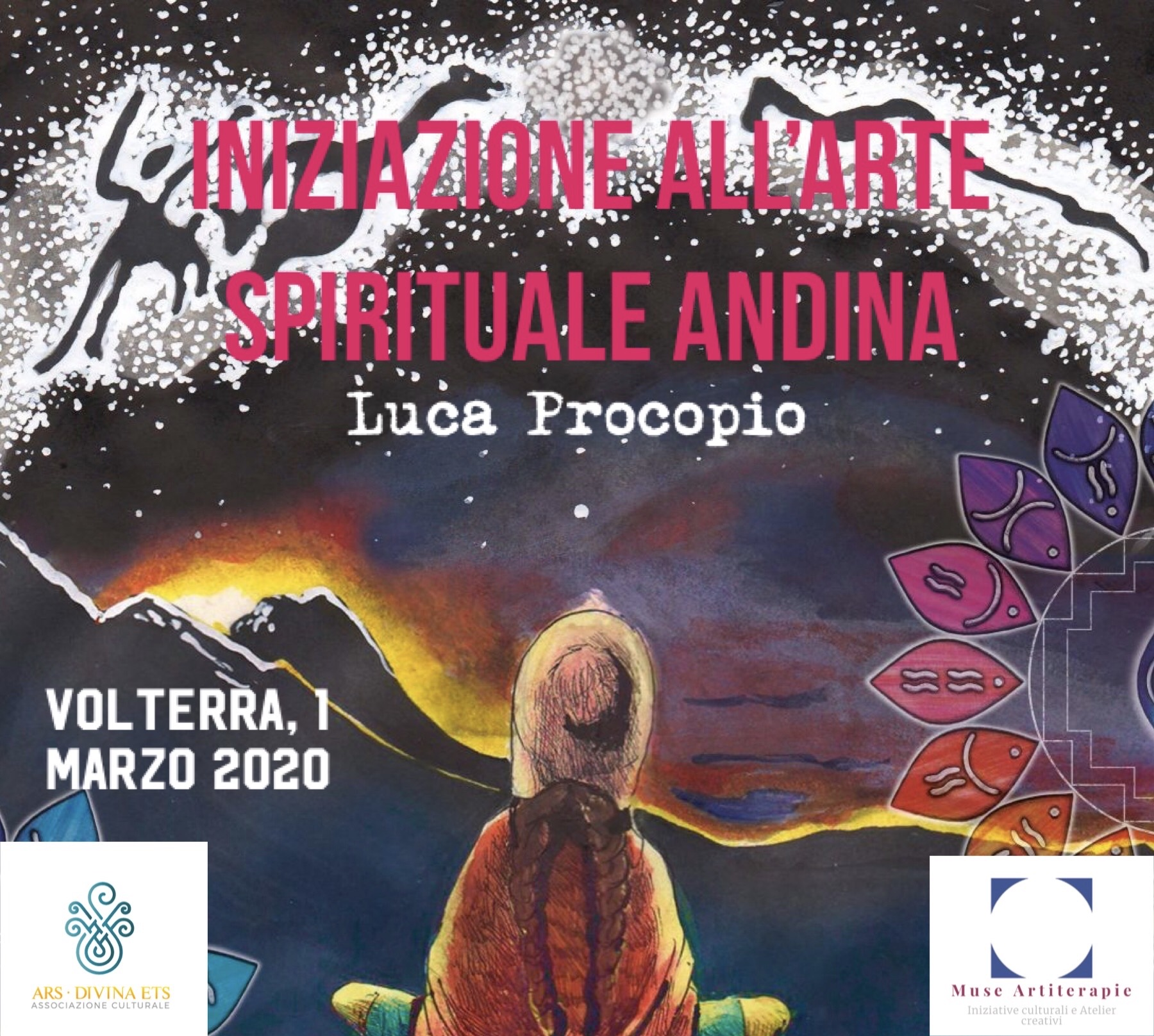 Luca Procopio: iniziazione all'Arte Spirituale Andina